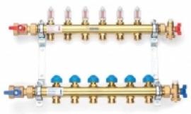 REHAU Коллектор для теплых полов HKV-D на 7 контуров