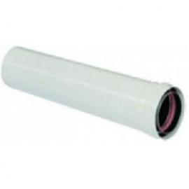 Vaillant Труба DN 80 1.0 м белая для раздельного дымохода