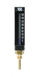 Watts Термометр спиртовой прямой / длина погружной трубки 50мм