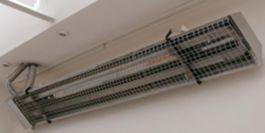 Защитная/декоративная решетка для инфракрасного обогревателя ADRIAN-RAD E 13