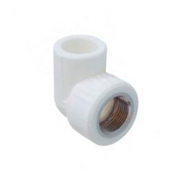 Kalde Угольник 32x1/2 с внутренней резьбой для полипропиленовых труб  (цвет белый)