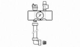 Vaillant Группа безопасности котла atmoVIT (манометр. воздухоотводчик. клапан на 3 бар. Rp1/2)