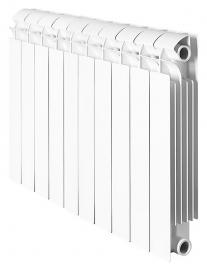 Биметаллический секционный радиатор Global STYLE PLUS 350 10 секций