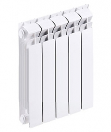 Биметаллический секционный радиатор RIFAR BASE 350 5 секций