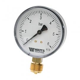 Watts F+R200(MDR) 63/16x1/4 Манометр радиальный / диаметр 63мм. 0-16 бар