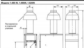 Baxi KIT CAPPA D.160 Дымовой колпак со стабилизатором для Slim 1.400 iN, 1.490 iN