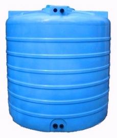 АКВАТЕК Бак для воды ATV 3000 синий со штуцерами