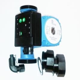 Насос циркуляционный энергоэффективный с частотным преобразователем Wester WPE 25-40G (180мм) с гайками