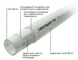 SANHA Труба из сшитого полиэтилена Multifit-Pex PE-Xc/EVOH 20х2,0