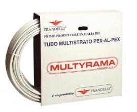 Труба металлопластиковая Prandelli Multyrama 26х3.0 (бухта 50м)