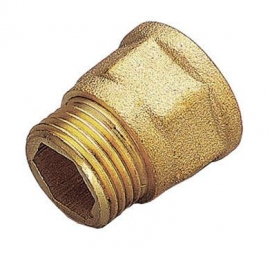 TIEMME Удлинитель НВ 1/2 х 10мм для стальных труб резьбовой