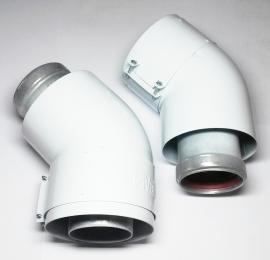 Vaillant Отвод коаксиальный 45 градусов, DN 60/100 (комплект 2 шт.)