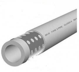 Kalde d=40х6.7 (PN 25) Труба полипропиленовая армированная (алюминий) (цвет белый)