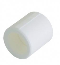 Kalde Муфта d=40 для полипропиленовых труб (цвет белый)