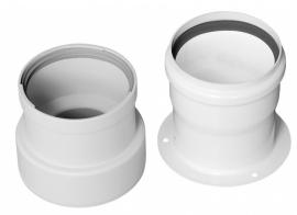 Baxi Переходной комплект на раздельные трубы полипропиленовый DN 80 (для HT котлов до 33 кВт)