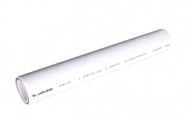 Kalde d= 40х5.5 (PN 20) Труба полипропиленовая армированная (стекловолокно) (цвет белый)