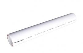 Kalde d= 63х8.6 (PN 20) Труба полипропиленовая армированная (стекловолокно) (цвет белый)