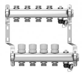 Wester W803.6 Коллектор распределительный (нержавеющая сталь) на 6 выходов