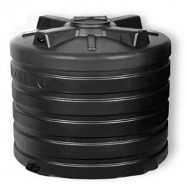 АКВАТЕК Бак для воды ATV 1000 черный (штуцера, поплавок)