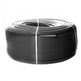 STOUT Труба из сшитого полиэтилена PE-Xa/EVOH 20х2,8 (бухта 100м) серая универсальная