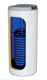 Накопительный водонагреватель (бойлер) косвенного нагрева Drazice OKC 160 NTR model 2016, напольный