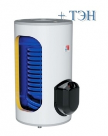 Накопительный водонагреватель (бойлер) комбинированного нагрева Drazice OKCE 160 NTR/2,2 кВт, напольный