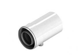 STOUT Конденсатосборник коаксиальный горизонтальный DN60/100 п/м (с уплотнениями)