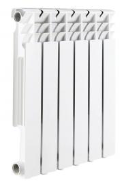 Алюминиевый секционный радиатор ROMMER Optima 500 8 секций