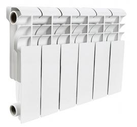 Алюминиевый секционный радиатор ROMMER Plus 200 10 секций