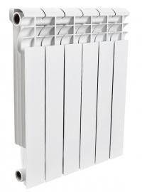 Алюминиевый секционный радиатор ROMMER Plus 500 10 секций