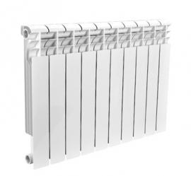 Биметаллический секционный радиатор ROMMER Profi Bm 350 (BI350-80-80-130) 10 секций