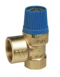 Watts SVW 10-1 Предохранительный клапан для систем водоснабжения, 10 бар, 1