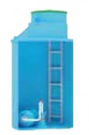 АКВАТЕК Кессон пластиковый 1500л для обсадной трубы 125-133мм