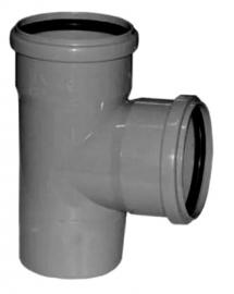 Sinikon STANDART Тройник D50/50 87 градусов серый