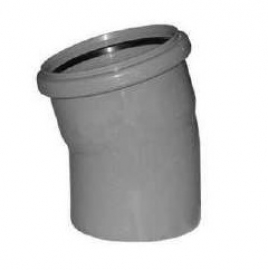 Sinikon STANDART Отвод D110 15 градусов серый