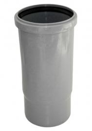 РР Патрубок компенсационный D110 серый полипропиленовый