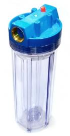 Акватек Фильтр для холодной воды Slim line AT-FMC34 (прозрачный корпус 10