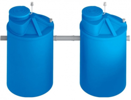 АКВАТЕК Септик пластиковый ЛОС 8А (стандартное исполнение)