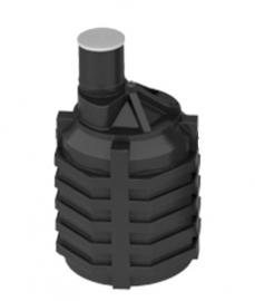 АКВАТЕК Септик пластиковый 3 куб.м (без входных патрубков и перегородки)