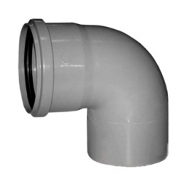 Sinikon STANDART Отвод D32 87 градусов серый