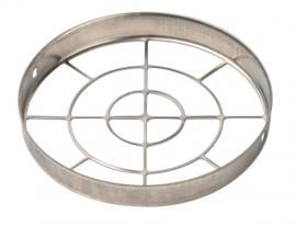 STOUT Решетка из нержавеющей стали DN80 для воздухоподводящей трубы