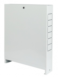 STOUT ШРН-2 Шкаф коллекторный 7 выходов наружный