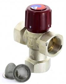 Watts Клапан термостатический смесительный AQUAMIX 6210C34 42-60С, вн. 3/4