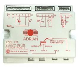 Adrian 2-80-401 Автоматика управления Bertelli FM16 для ADRIAN-RAD E