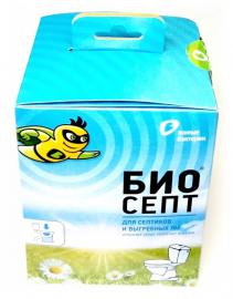 БИОСЕПТ Биоактиватор для септиков, 600гр (24 пакета по 25гр)