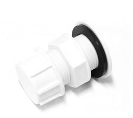 Polimer Group Штуцер с заглушкой пластиковый 1 1/2