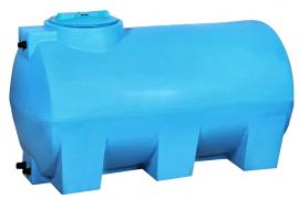 АКВАТЕК Бак для воды ATH 1500 синий (штуцера, поплавок)