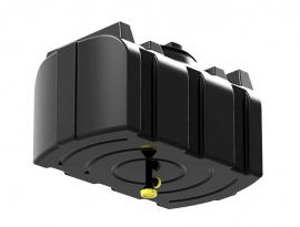 Polimer Group R-100 Бак для душа с лейкой черный
