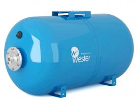 Мембранный бак (гидроаккумулятор) Wester Premium WAO 150P, нерж. контрфланец