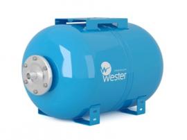 Мембранный бак (гидроаккумулятор) Wester Premium WAO 24P, нерж. контрфланец